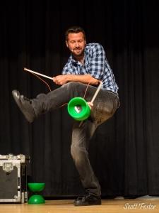 Variety act Matt Baker