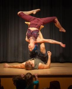 A partner balancing act