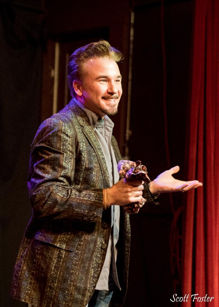 Magician Jeff McClure